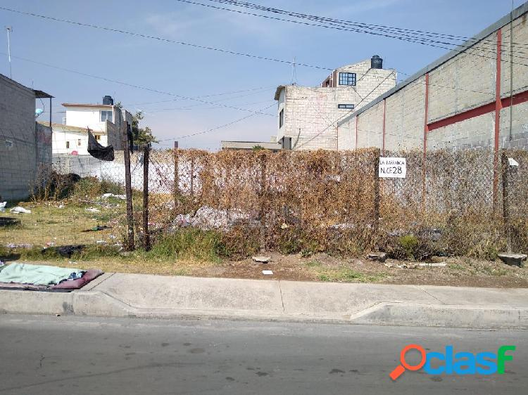 Terreno habitacional en venta en san cristóbal centro, ecatepec de morelos, méxico