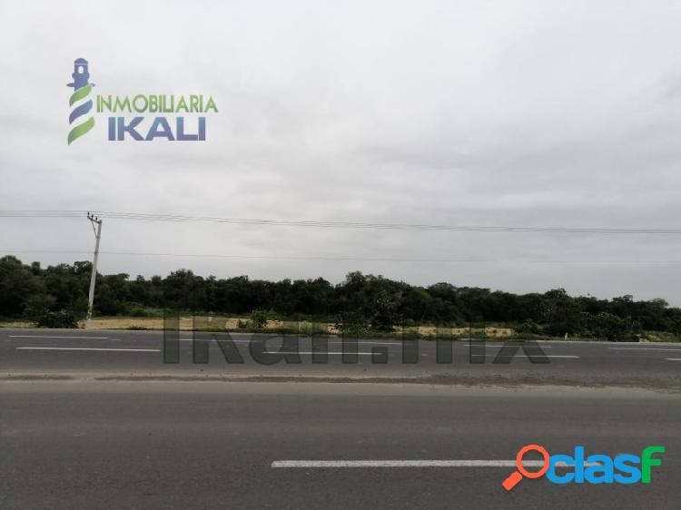 Renta terreno 3 hectáreas libramiento portuario Tuxpan Veracruz, La Victoria 1