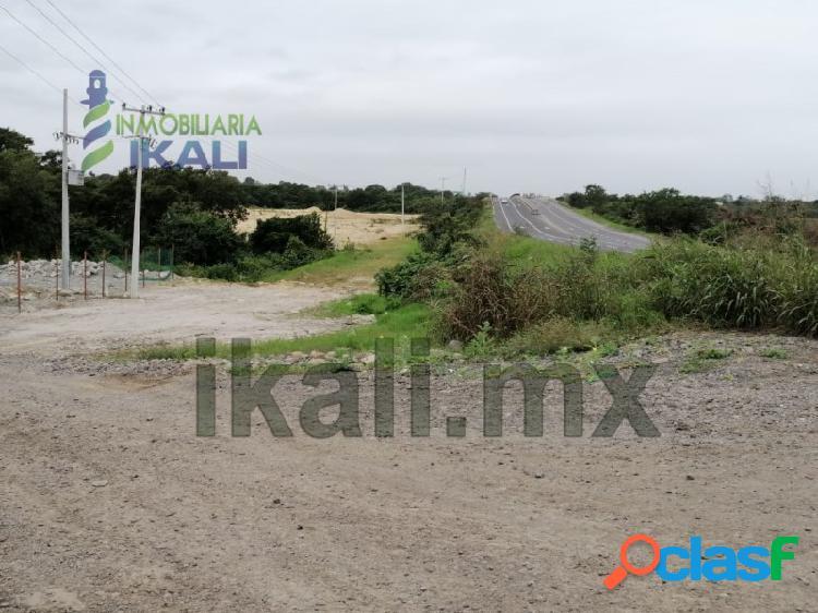 Renta terreno 3 hectáreas libramiento portuario Tuxpan Veracruz, La Victoria 2