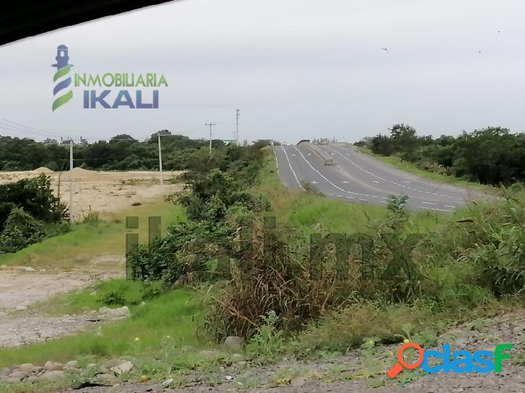 Renta terreno 3 hectáreas libramiento portuario Tuxpan Veracruz, La Victoria 3