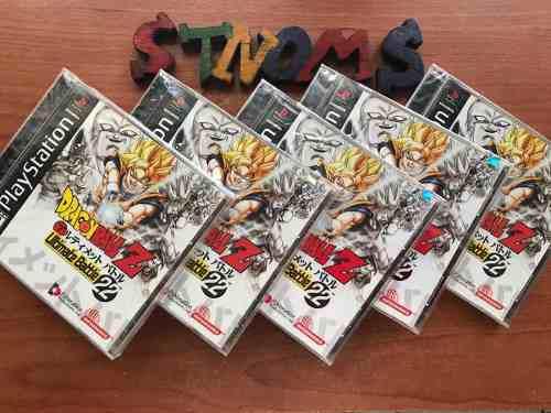 5 piezas dragon ball z ultimate battle 22 / últimos juegos