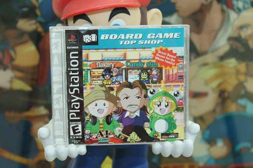 Board Game Top Shop Para Playstation 1 Completo