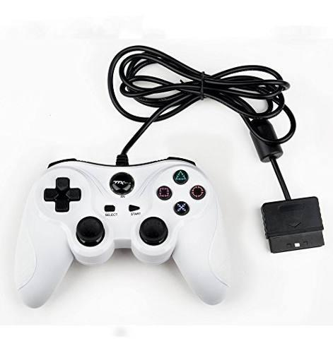 Control para ps2 y ps1 ttx tech blanco nuevo y sellado