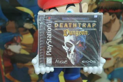 Deathtrap dungeon para playstation 1. nuevo y sellado