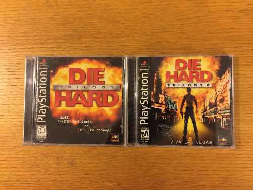 Die hard trilogy 1 2 ps1 ps2 ps3 playstation lote psone