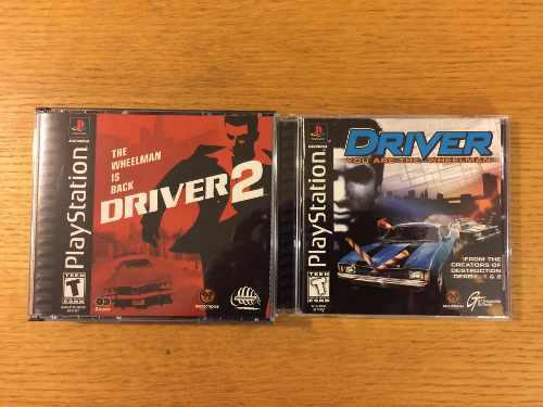 Driver 1 2 ps1 ps2 ps3 playstation 1 lote colección psone