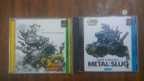 Metal slug y metal slug x ps1 japones