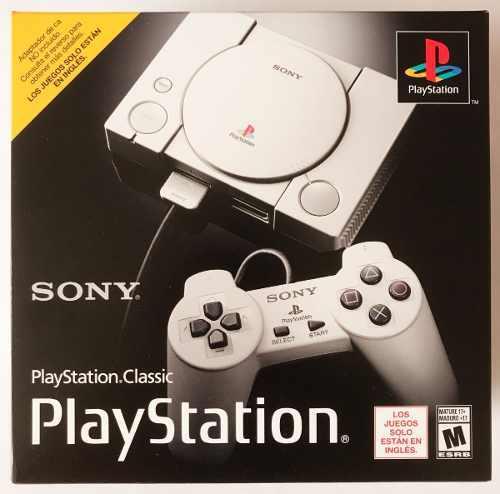 Sony playstation 1 classic con 20 juegos hdmi ps classic
