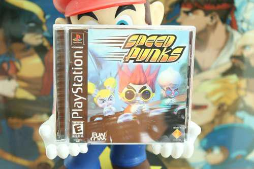 Speed punks para playstation 1. completo. exc. condicion.