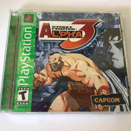 Street fighter alpha 3 ps1 completo