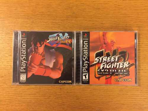 Street fighter ex plus alpha ex2 ps1 ps2 ps3 playstation 1