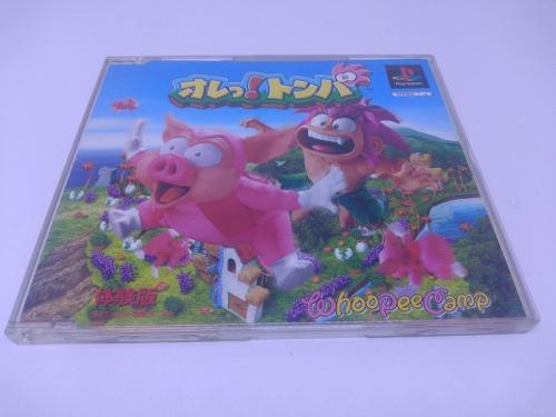 Tomba Ps1 Playstation Japonés