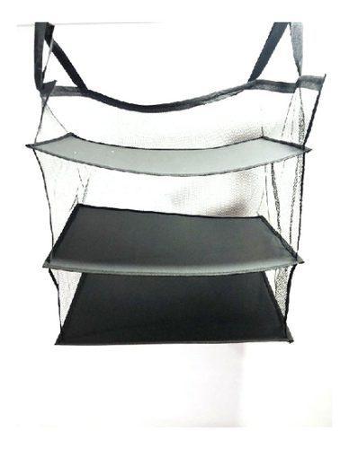 3 capas armario bolsa de equipaje portátil sistema de