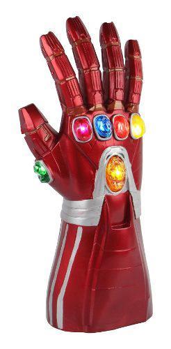 Avengers 4 Niño Iron Man Led Guante Rojo Guantelete