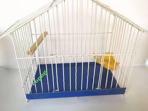 Jaula para pajaros canarios ave casita #1