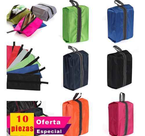 Lote10 mayoreo bolsa equipaje zapato ropa organizador viaje