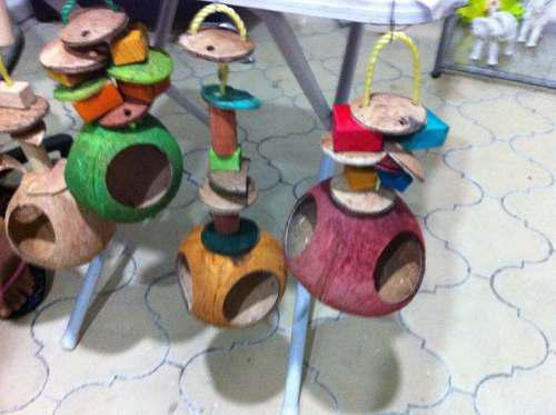 Nido y juguete para pájaro no tóxico birdays,nest and toy.