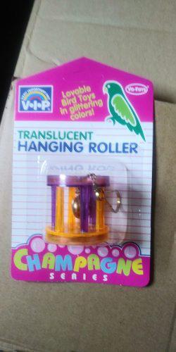 Vo-toys Colgante Traslucido Tipo Cilindro Para Ave Juguete