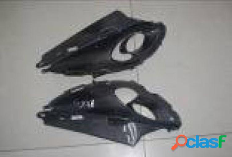 Carenado lateral de fibra de carbono para motos Suzuki Hayabusa, año 2008