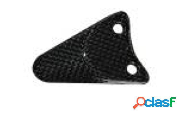 Soporte para el asiento trasero de fibra de carbono para motos MV F3 675 de 2012.