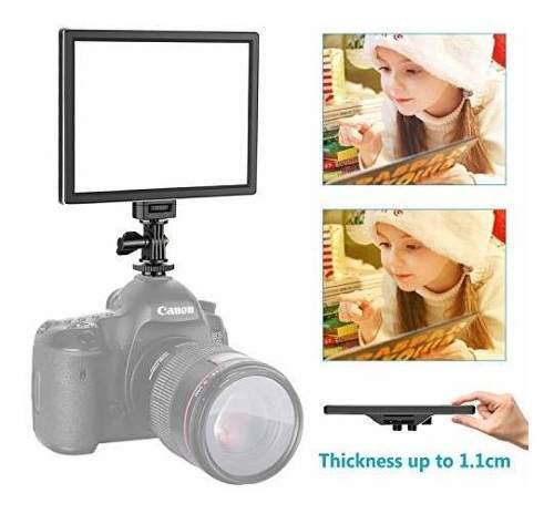 Led video luz de camara/videocámara iluminación