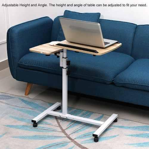 Mesa plegable con ángulo de altura ajustable para ordenador