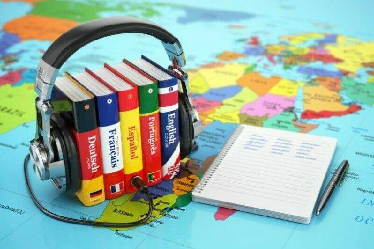 Traducciónes entre ingles, frances, italiano, alemán,