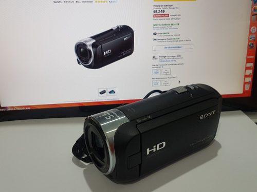 Videocamara sony full hd 60fps hdmi 9.2 mgpxeles