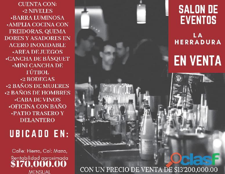 Salon de fiestas en cuahutemoc