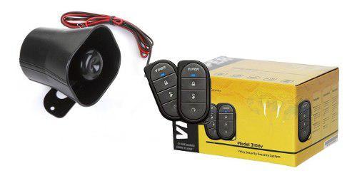Alarmas auto viper control antena sensor golpes 3106v oferta