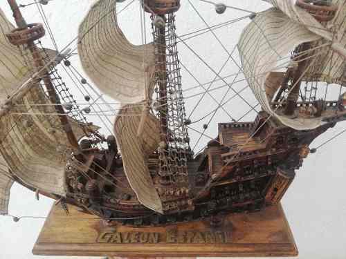 Barco galeón español s.16
