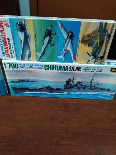 Barcos 1/700 waterline series