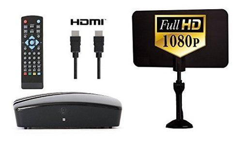 Caja convertidora digital antena digital cable hdmi y rca -