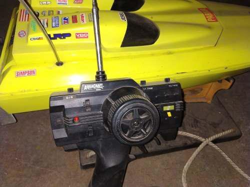 Lancha de radio control. aquacraft