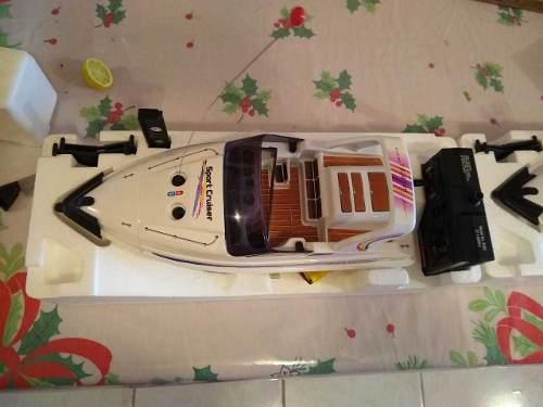 Lancha sport cruiser, radio control,