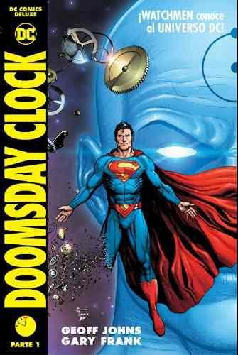 Dc comics deluxe: doomsday clock pasta dura