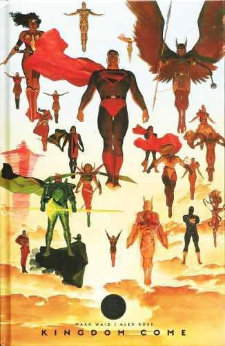 Dc comics kingdom come deluxe superman pasta dura black labe