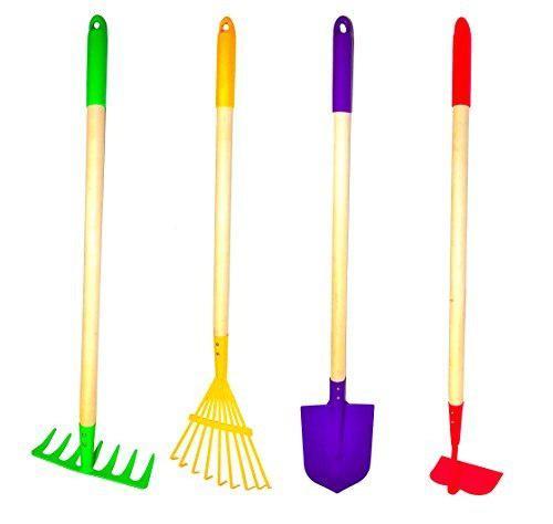 Juego de herramientas de jardín para niños justforkids, ra