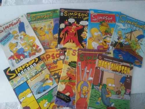 Los simpson comics 35 numeros $40 c/u