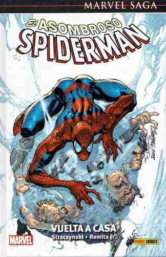 Marvel saga. el asombroso spiderman 1: vuelta a casa