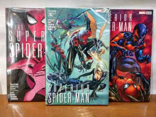 Superior spiderman deluxe pasta dura saga completa env grati