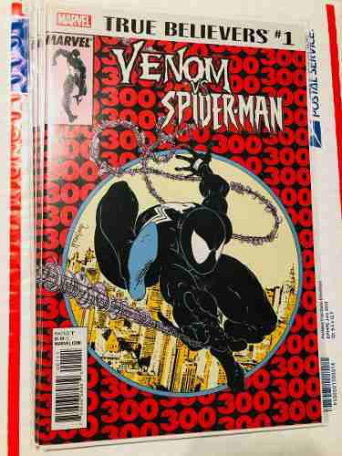 Venom vs spiderman 1 todd mcfarlane marvel comics 300