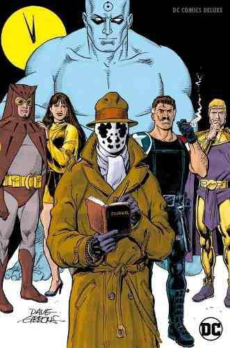 Watchmen comic dc comics black label pasta dura