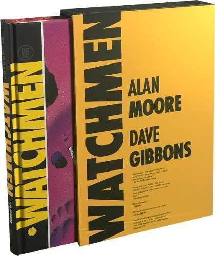 Watchmen dc modern classics edition comic pasta dura ingles