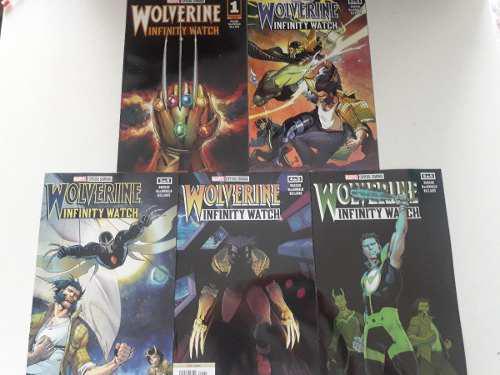 Wolverine: infinity watch - marvel comics