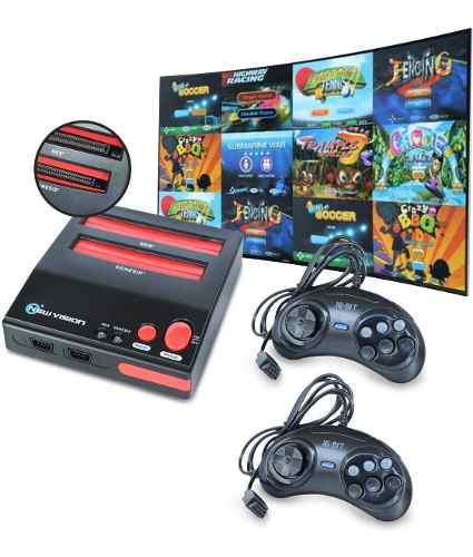 Consola retro 28 juegos incluidos retro compatible nes sega