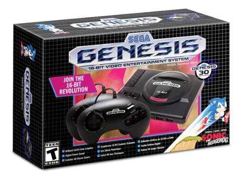 Consola sega genesis mini 42 juegos 2 controles