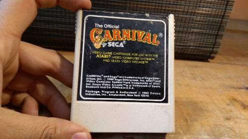 Juego de atari 2600 cassette circus by sega