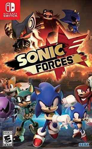 Sonic forces: standard edición - nintendo switch