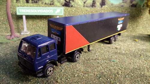 Adq trenes escala ho trailer mercedes benz decorado n de m